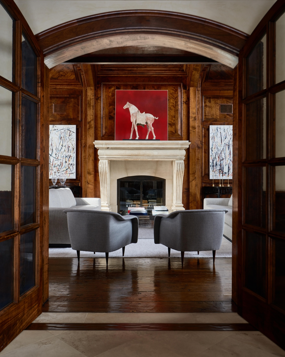 The Vail Residence by Champalimaud Design New York.