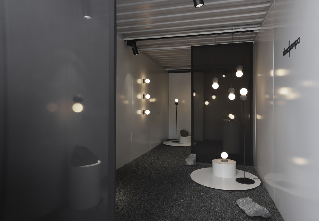 Origo wall and floor lamp - Studio davidpompa