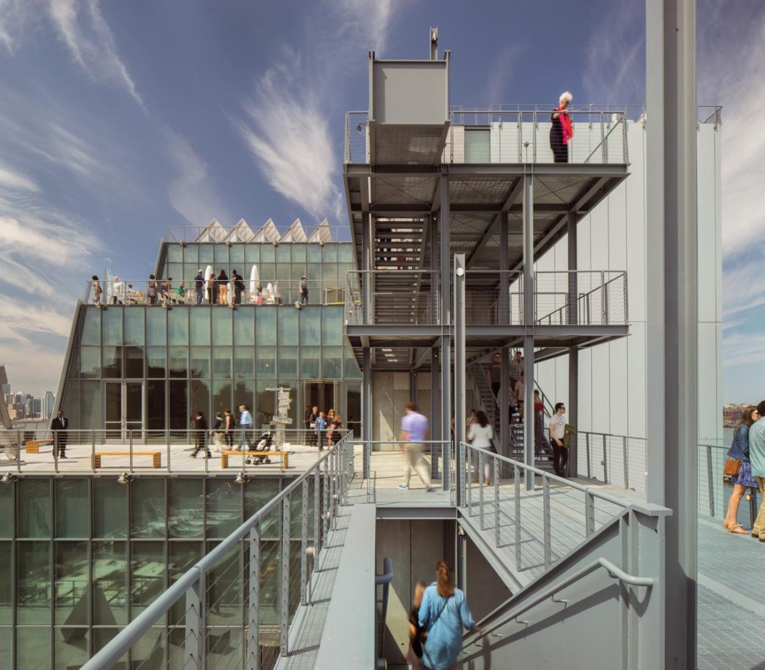 Renzo Piano Building Workshop, Whitney Museum of American Art, New York, 2015 Photo © Nic Lehoux © RPBW