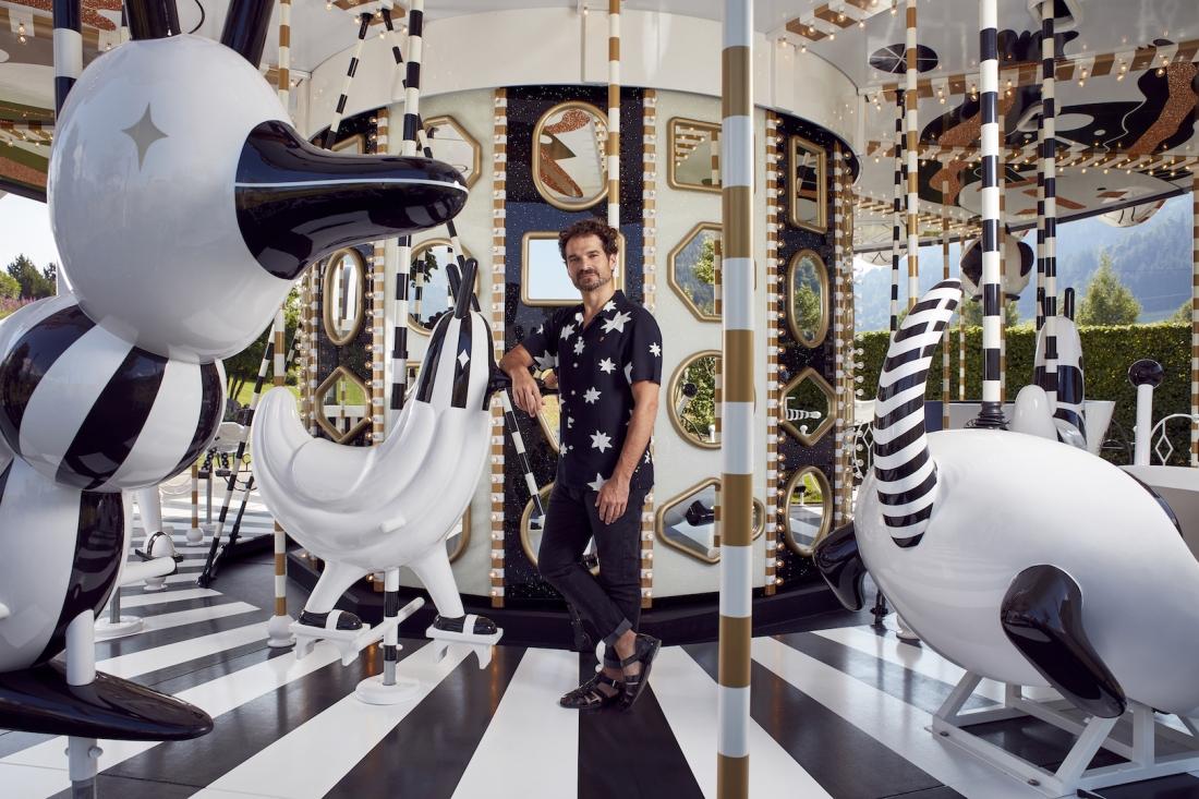 Jaime Hayon Carousel Swarovski Kristallwelten 2019 Image Courtesy of Swarovski Photography by MarkCocksedge