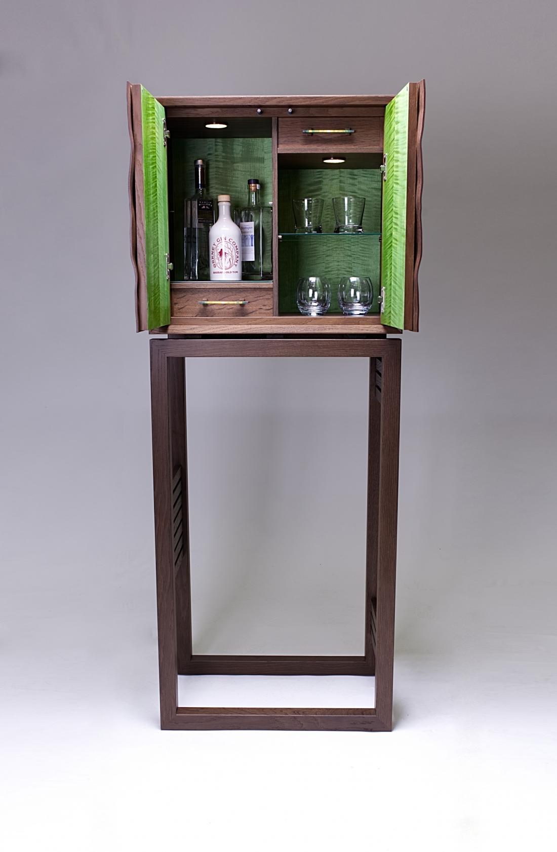 Botanical cabinet by KEVIN STAMPER
