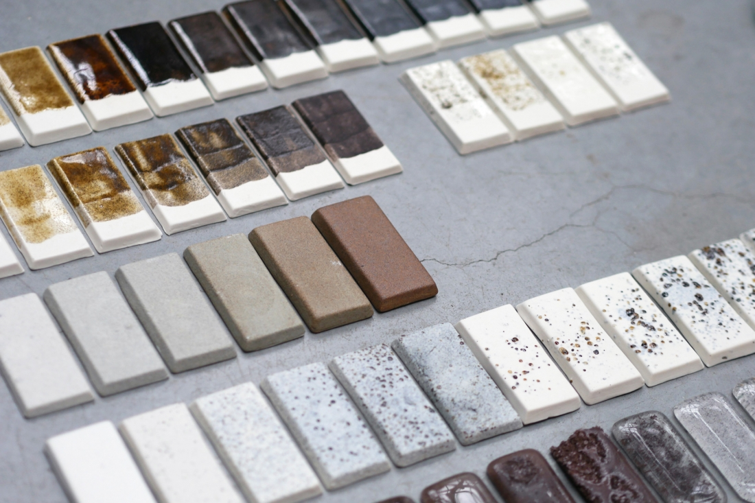 Ignorance is Bliss ceramic tiles - research