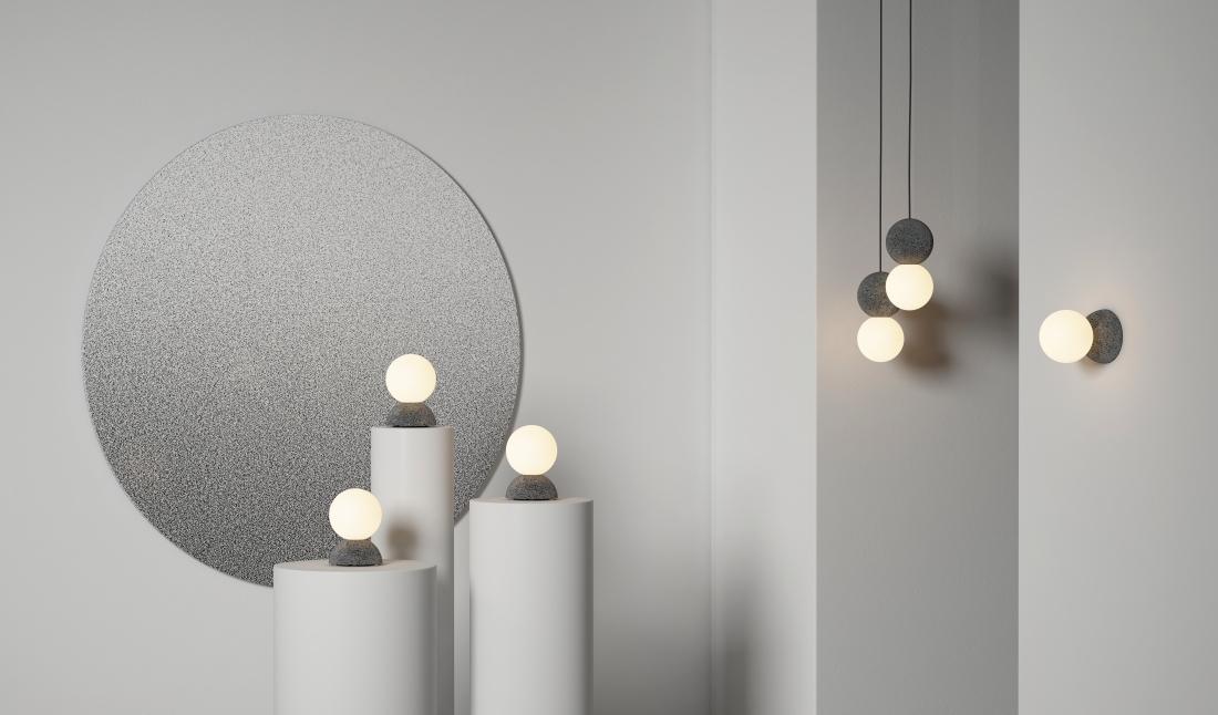 Origo wall and floor lamp - Studio davidpompa
