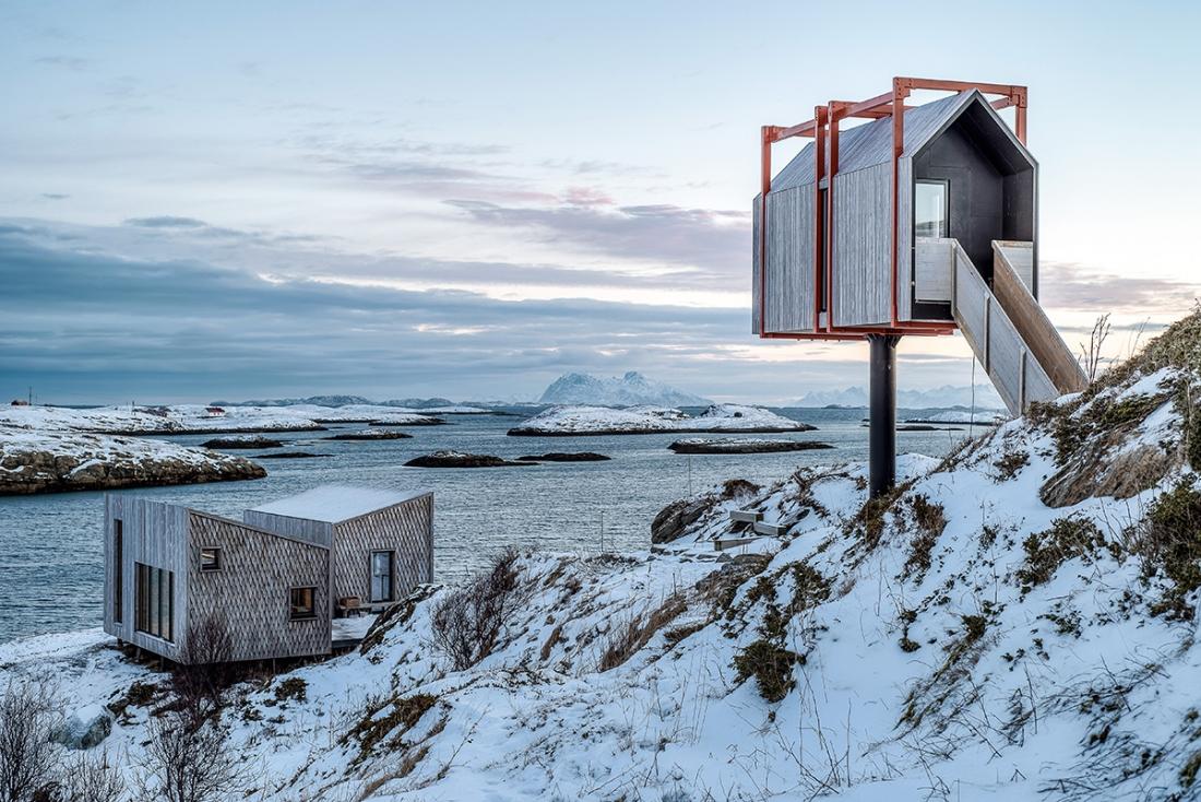 Rintala Eggertsson + TYIN – Fleinvær Refugium, Fleinvær Island, Nordland, Norway. Copyright: © Pasi Aalto