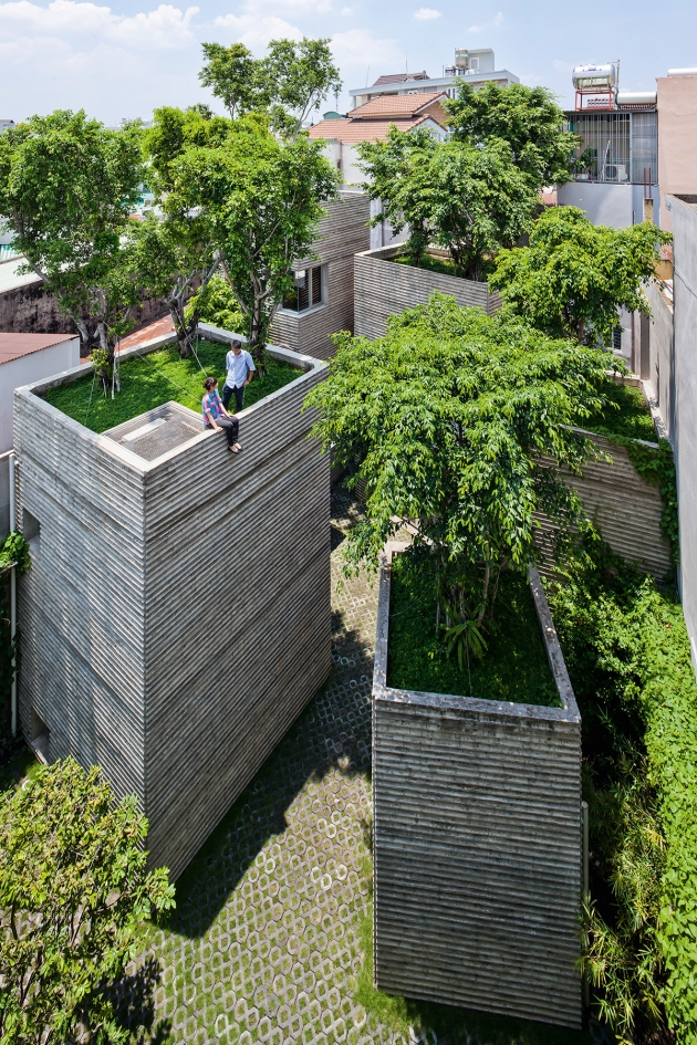 Vo Trong Nghia – House for Trees, Ho Chi Minh City, Vietnam. Copyright: © Hiroyuki Oki