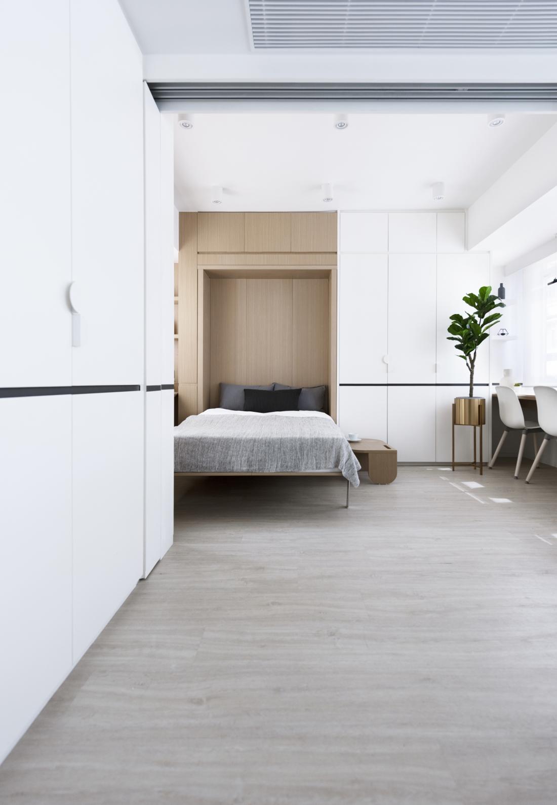 Bizhouse- Live+Work Apartments by Bean Buro.