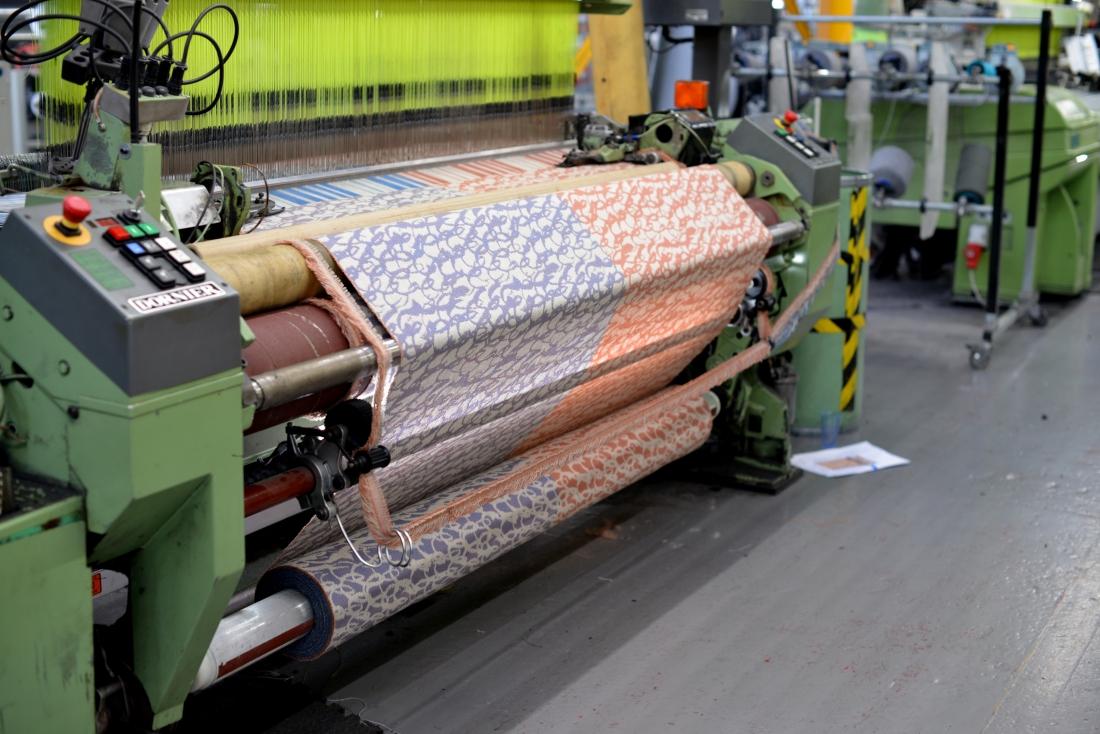 Image by Ella Doran - Camira Looms weaving