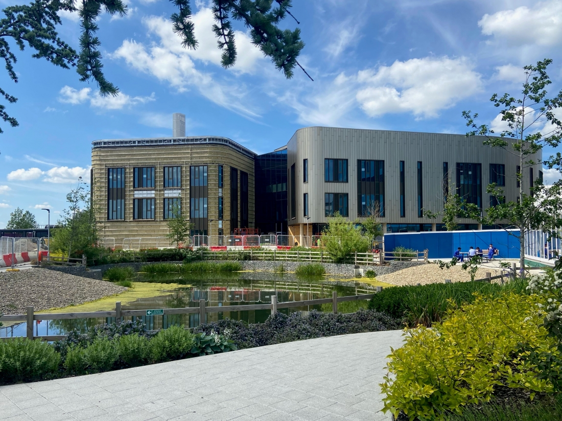 Under Construction - Heart and Lung Research Facility, Cambridge University + Papworth Hospital