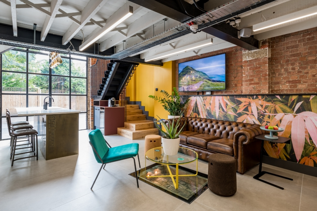 The consumer will decide where he or she wants to work (image - bubbleHUB co-working space, St Albans)