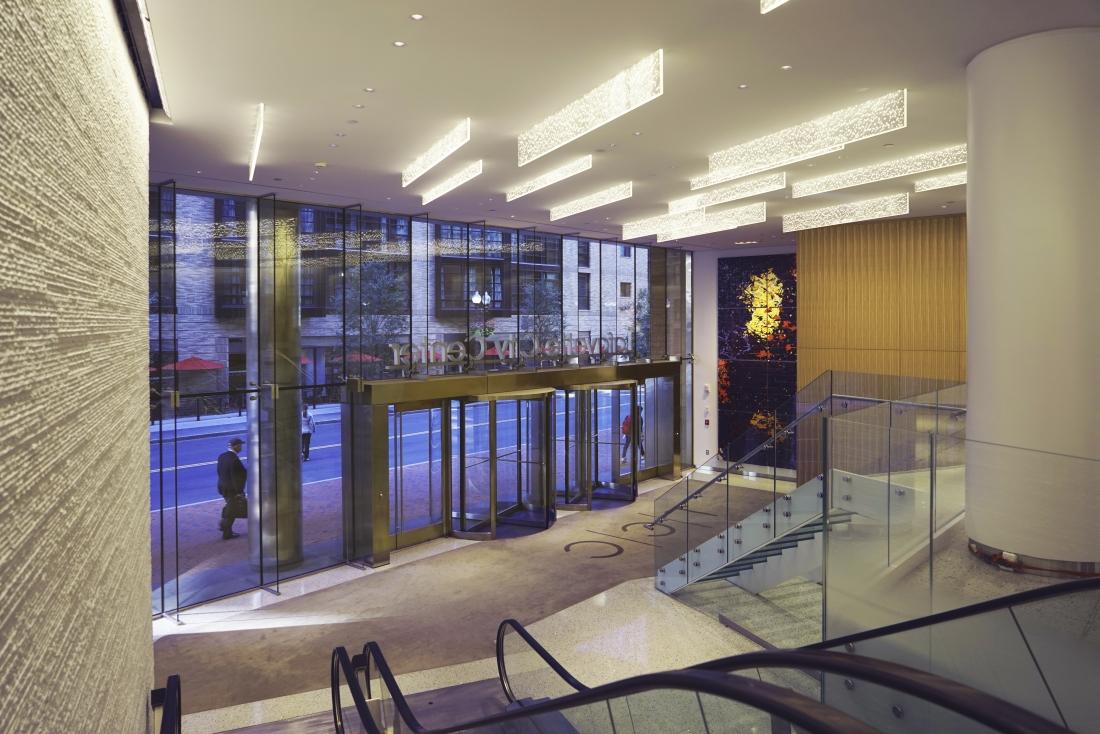 Sensitile FINs - Lafayette City Center.