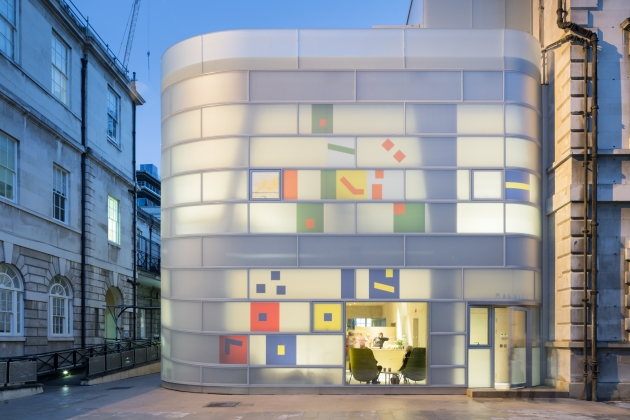 All photography courtesy of Surface Design Awards. Maggie's Centre Barts, London as Supreme Winner by Steven Holl Architects