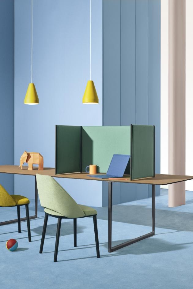 Pedrali, Toa Folding Screen, designed by Robin Rizzini, art direction: Studio FM, photo: Andrea Garuti