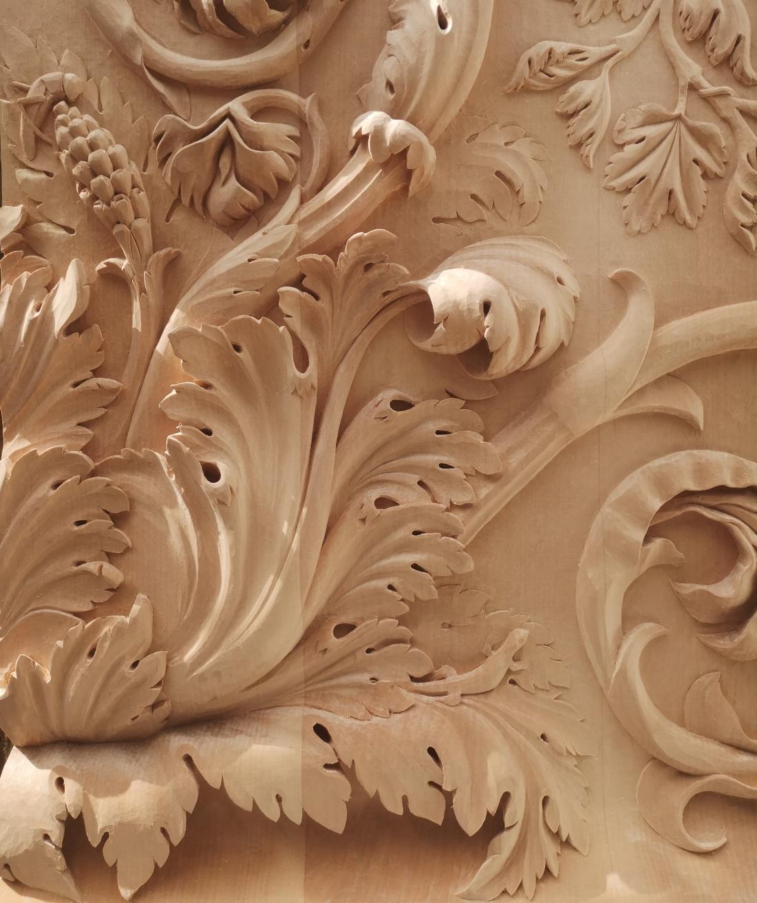 Future Icons - Zeinab Harding Wood Carving