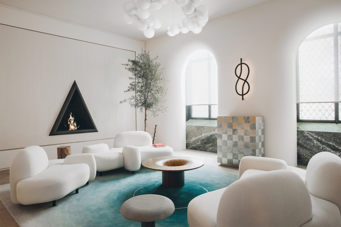 Mathieu lehanneur unveils his new furniture and lighting collection