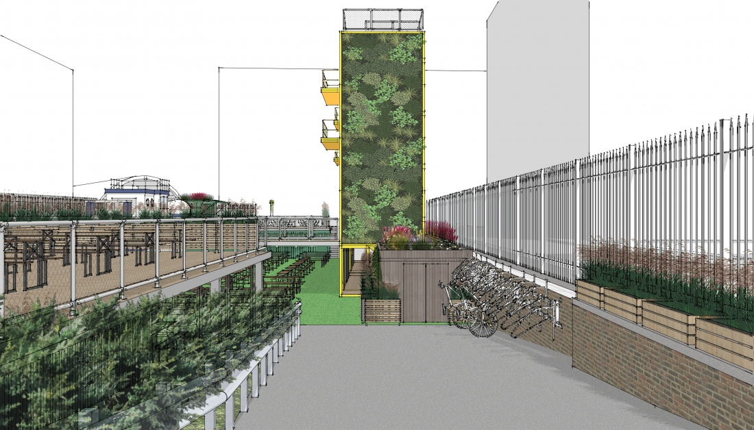 An exciting mixed-use development on the drawing board