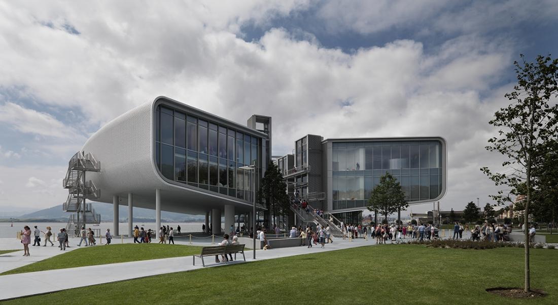 Renzo Piano Building Workshop, Centro Botín, Santander, 2017 Photo © Enrico Cano
