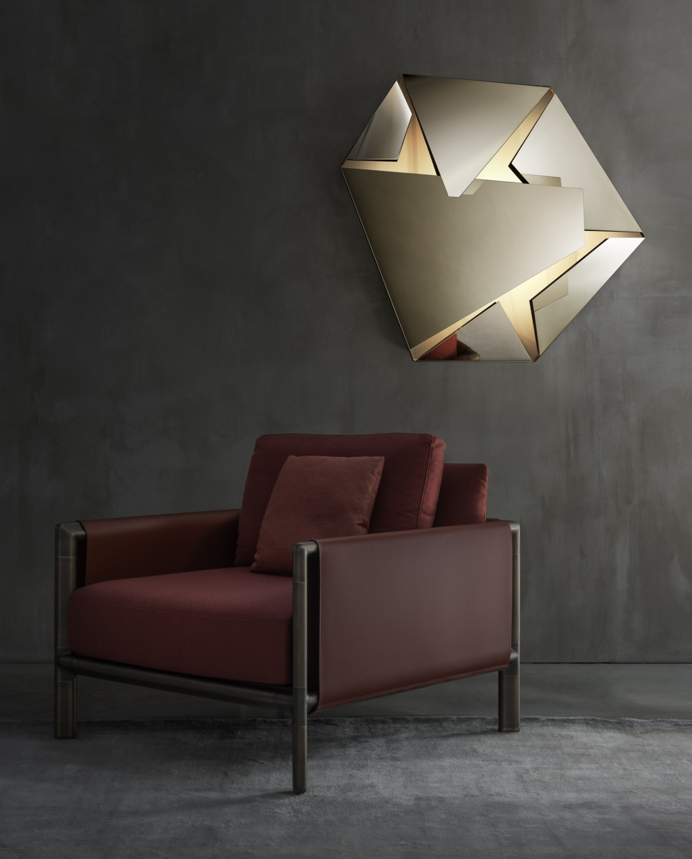 Kaleidos lamp Frame armchair Fabrizio Bergamo
