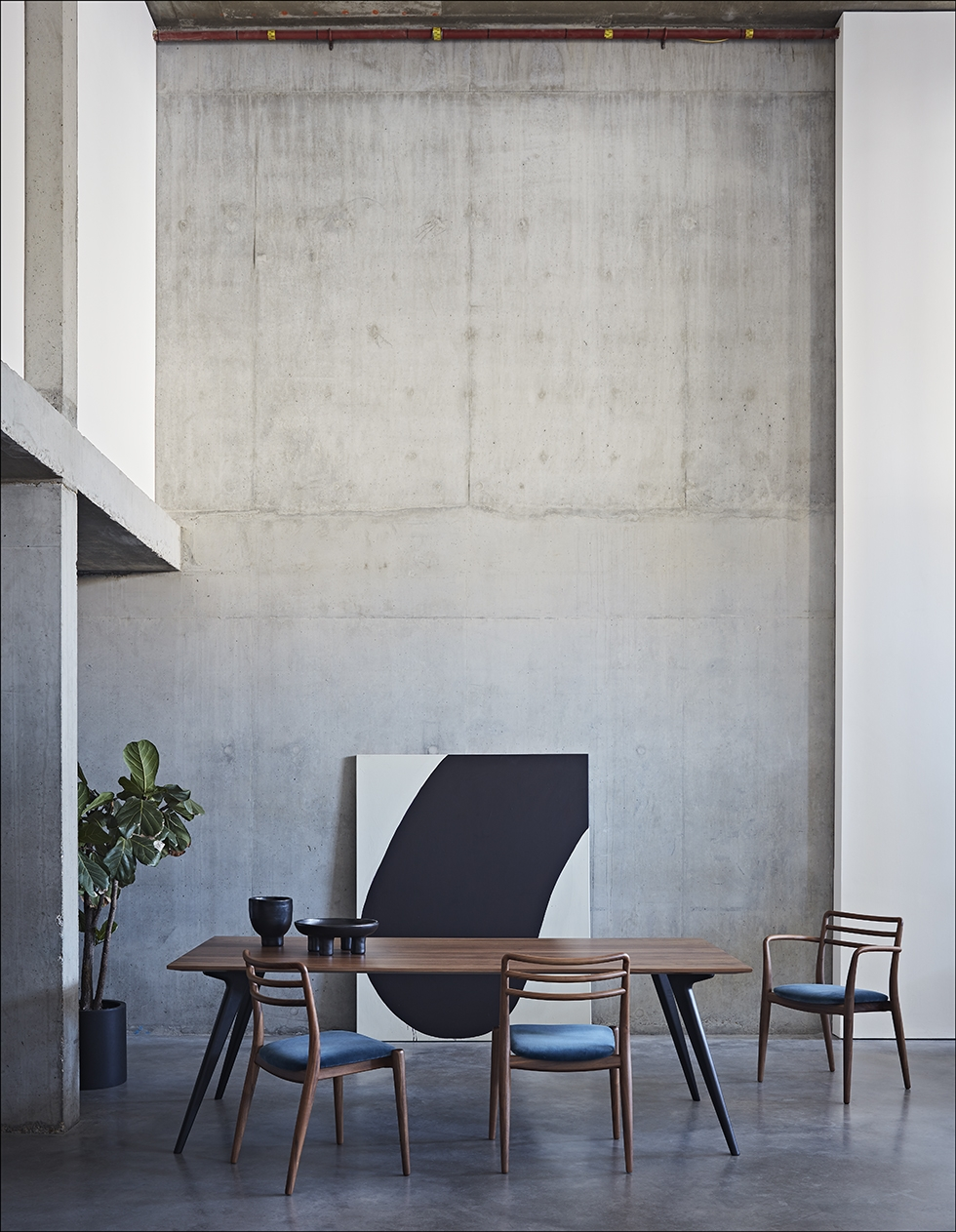 Dare Studio - Waldron Table and Tor Chairs
