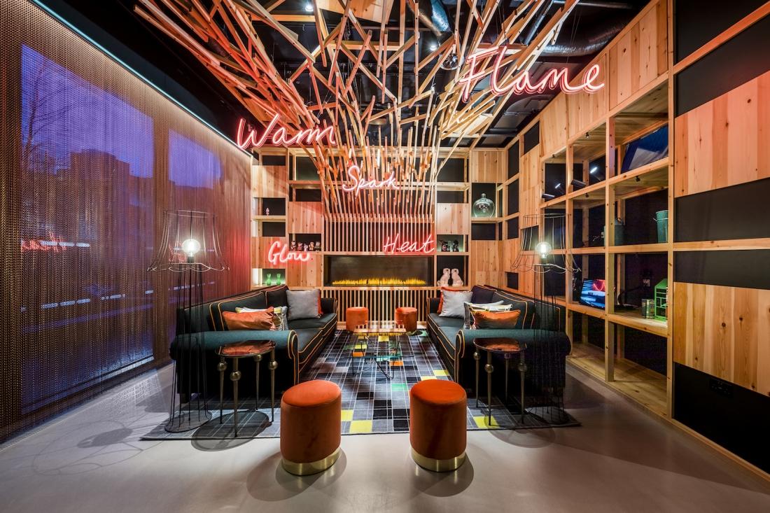 nhow London - Lobby - Project Orange