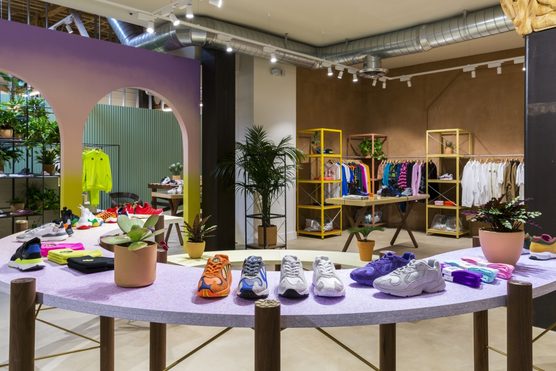 Sneakersnstuff- Los Angeles store designed by Bofink