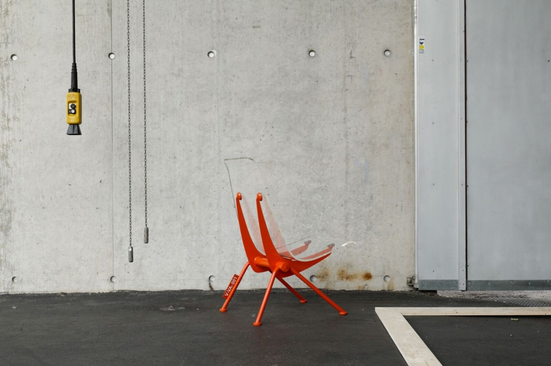 Virgil Abloh x Vitra, Antony Chair (1950), Jean Pouvé. Photography: Joshua Osborne