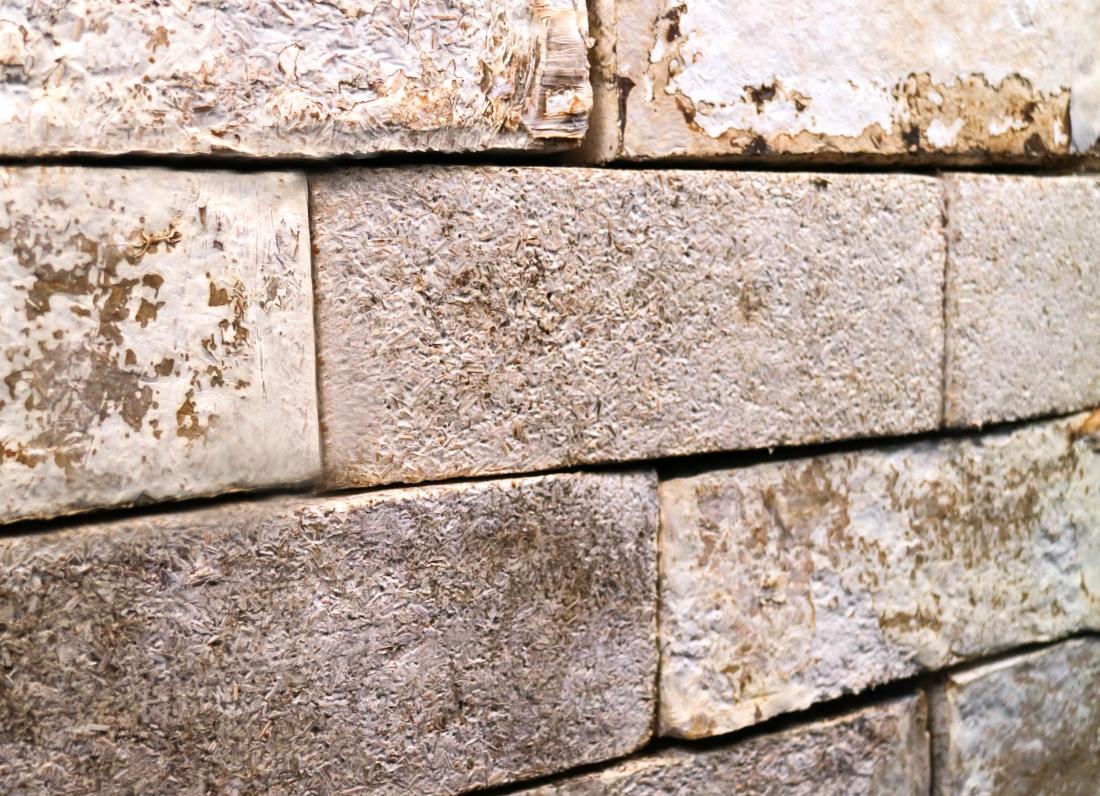 BIOHM - Mycelium Brick Panels.