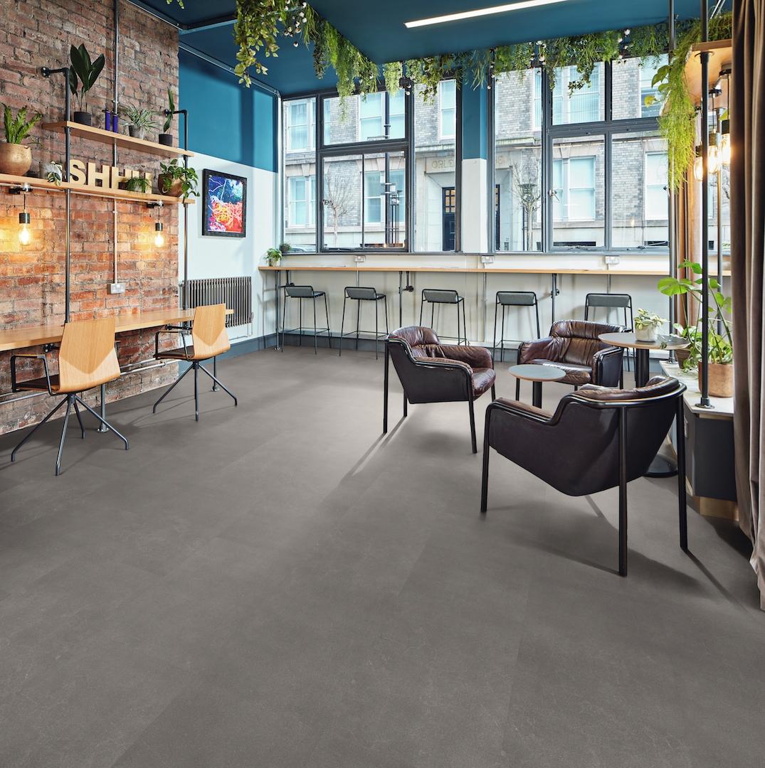Karndean Designflooring - Korlok - RKT2402 Urban Grey Co-WorkingSpace / Office