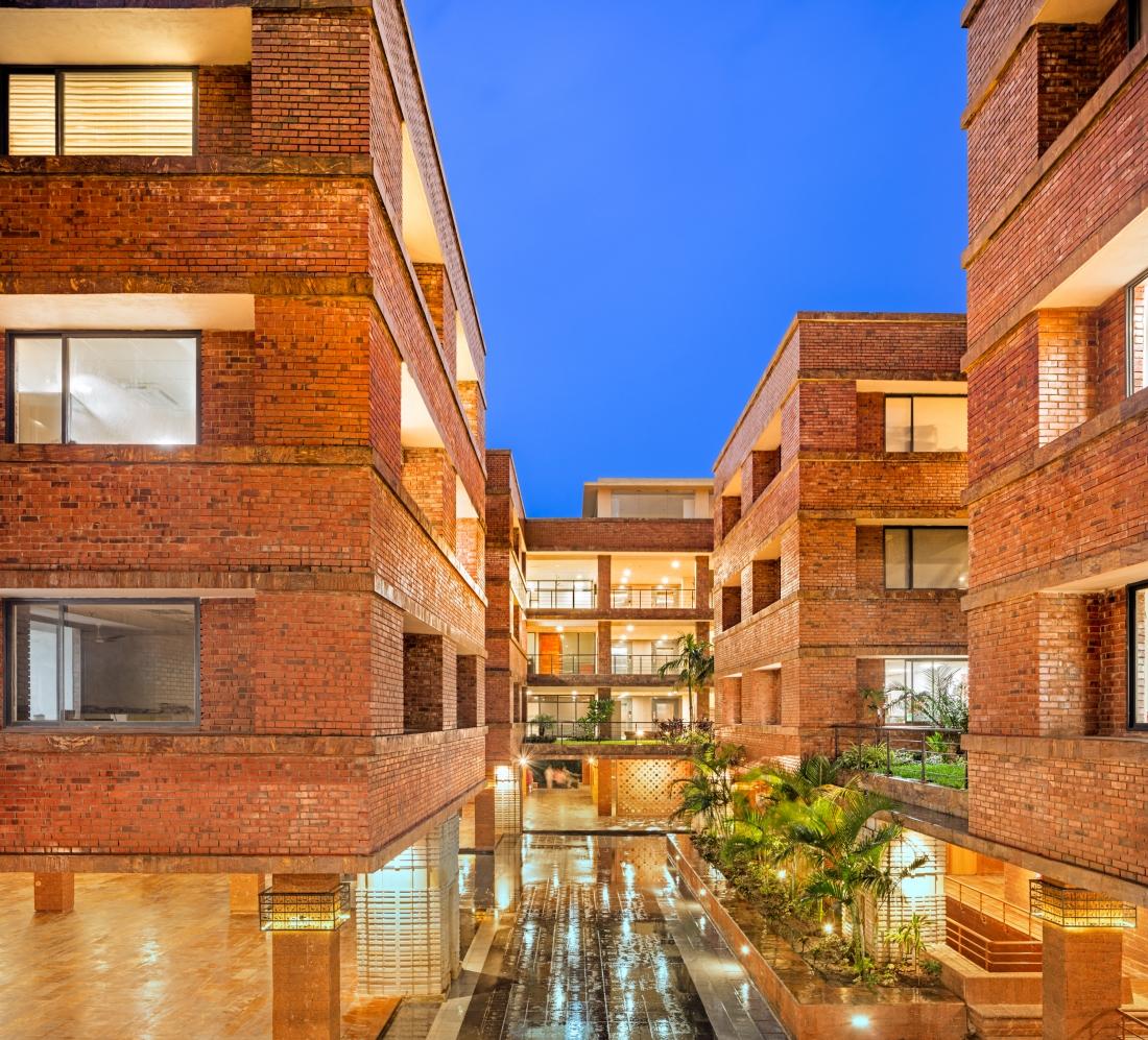 Surface Design Awards Public Building-Krushi Bhawan