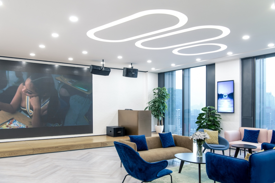 Warner Music Beijing - Bean Buro - Photography is courtesy of Shawn Koh/Feng Studios