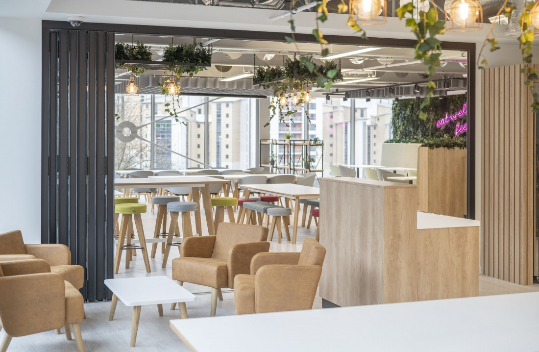 Images courtesy of AMH Workspace