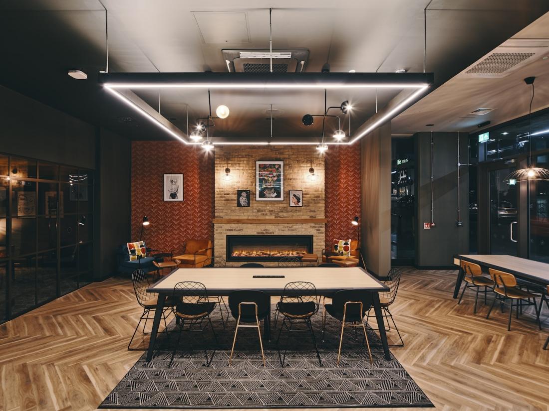 Symons House, Leeds - Study lounge. Photography by Gu Shi Yin