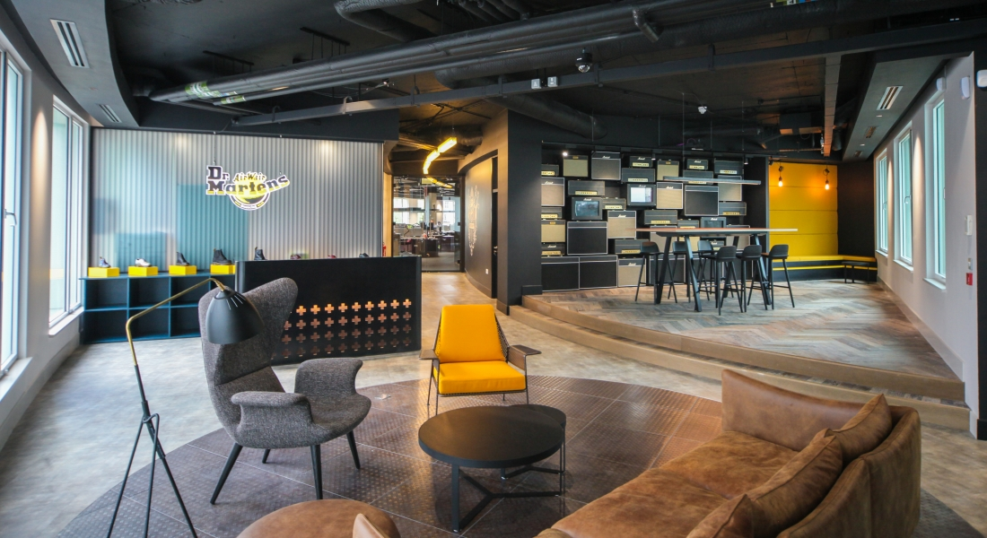 SpaceInvader - Workplace Project - Dr Martens European Head Office London