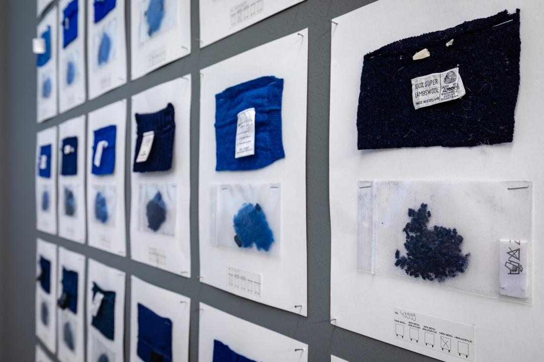 Installation views Christien Meindertsma: Beyond the Surface © Vitra Design Museum, photo: Bettina Matthiessen