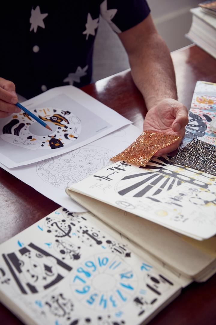 Jaime Hayon Carousel Swarovski Kristallwelten 2019 Studio Image Courtesy of Swarovski Photography by MarkCocksedge